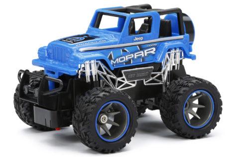 1:24 Scale RC Mopar Jeep Wrangler Blue