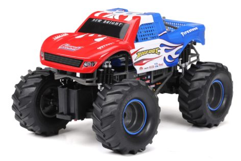 1:15 Scale Team Bigfoot with Red, White and Blue Deco