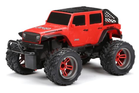 1:16 Scale R/C Chargers Jeep Wrangler