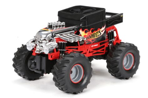 1:14 Scale Bone Shaker Monster Truck with Lights and Sound