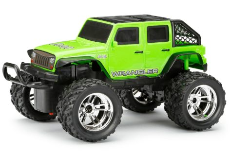 1:18 Scale R/C Chargers Jeep Wrangler