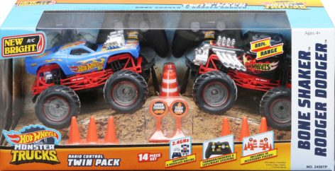 Monster Truck Twin Pack Package BS & RD