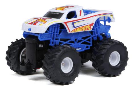 1:43 Hot Wheels Racing #1 White