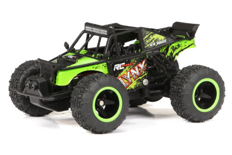 1:43 Scale RC Pro Micro Lynx Buggy - Green