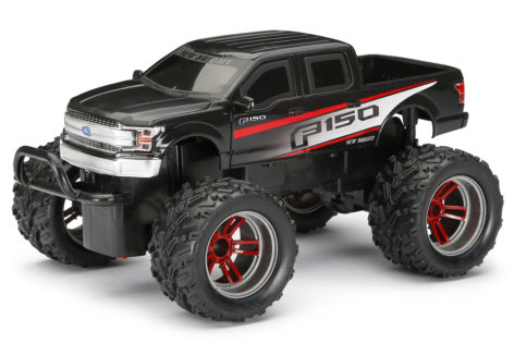 1:16 Scale R/C Chargers Ford F-150 - Black