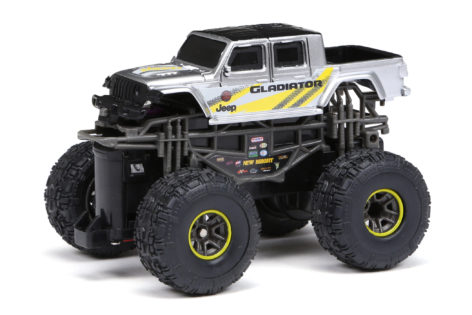 1:43 Scale Jeep Gladiator - Silver