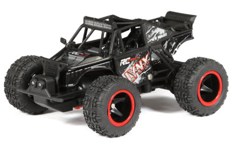 1:43 Scale R/C PRO Micro Lynx Buggy - Black