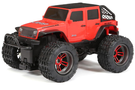 1:16 Scale R/C Chargers Jeep Wrangler 4x4 Main