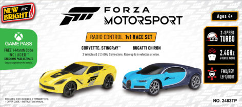 Forza Motorsport 1:24 Scale TwinPack Package