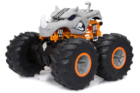 1:10 Scale Hot Wheels Rhinomite Monster Truck Main